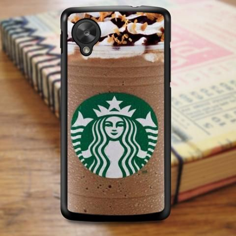 Starbucks Coffe Ice Cream Frappuccino Nexus 5 Case