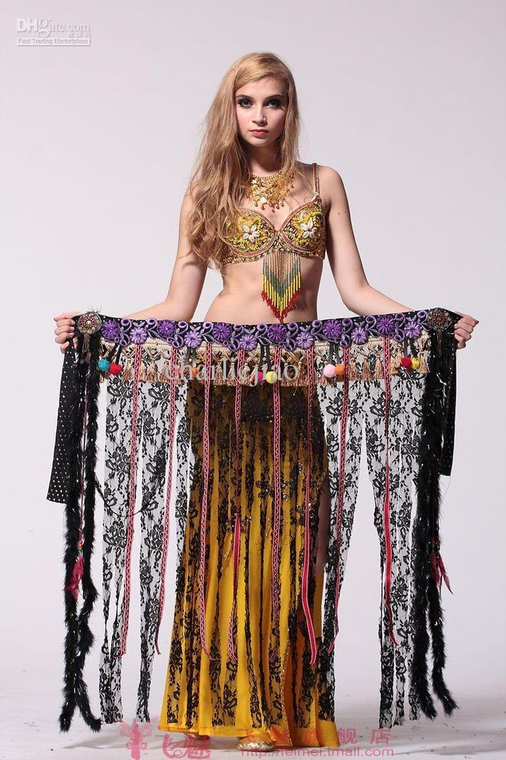 belly dancing hip scarf wrap