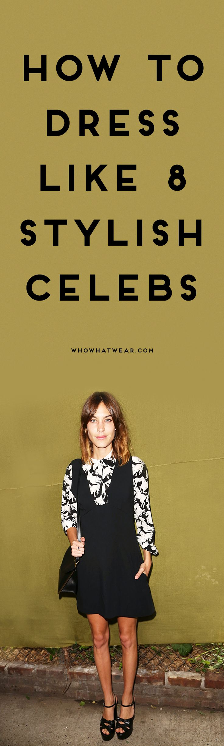 Celebrity-inspired outfits from Alexa Chung, Karlie Kloss, and more