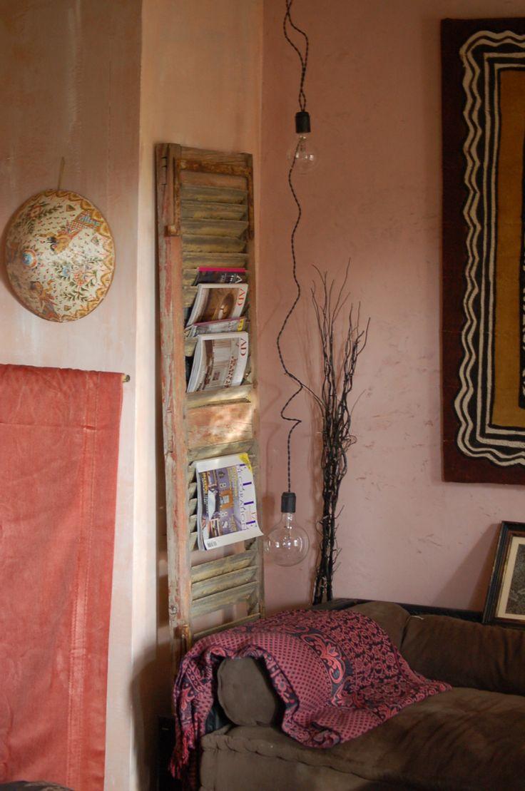 Útil Diseño Interior: 40 idées pour recycler de vieux volets en bois