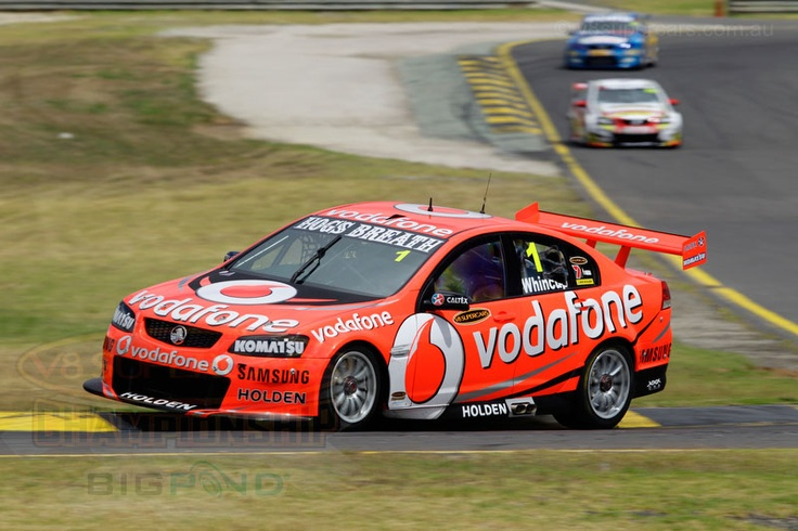 Australian V8 Supercars touring card racing -  2012 Test Day