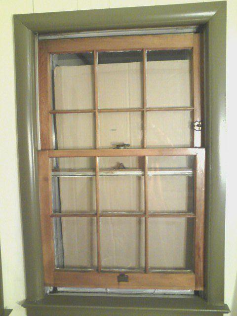 Homemade Solar Window Heater Cardboard Black