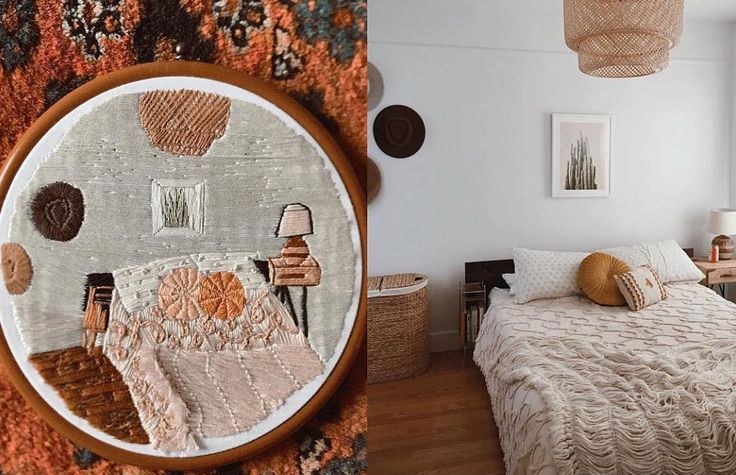 Shag Threads: If you like your needlework with a 70s vibe and some interiors inspiration, look no further than Shag Threads. You can even commission a custom replica of your dream room.