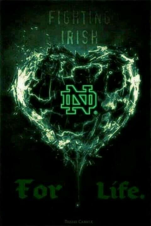 Love the Fighting Irish for life!