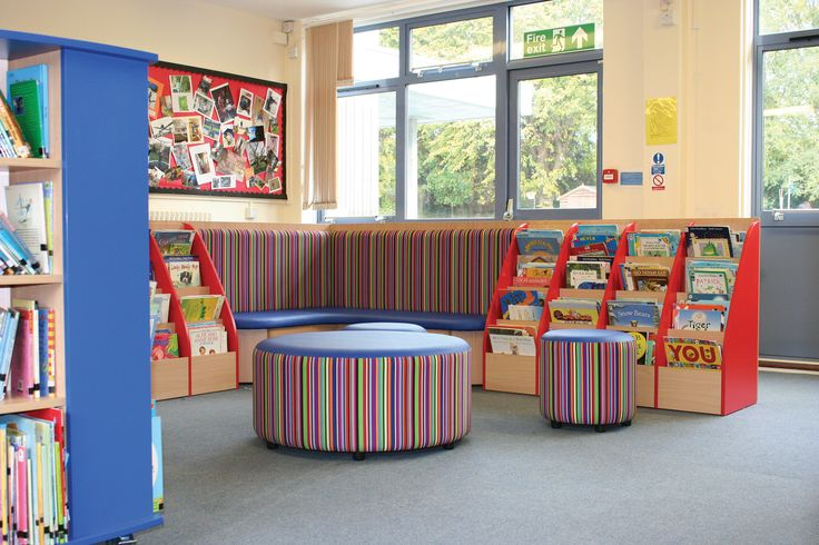 A School Library created by Incube Ltd for St Polycarp's Primary School