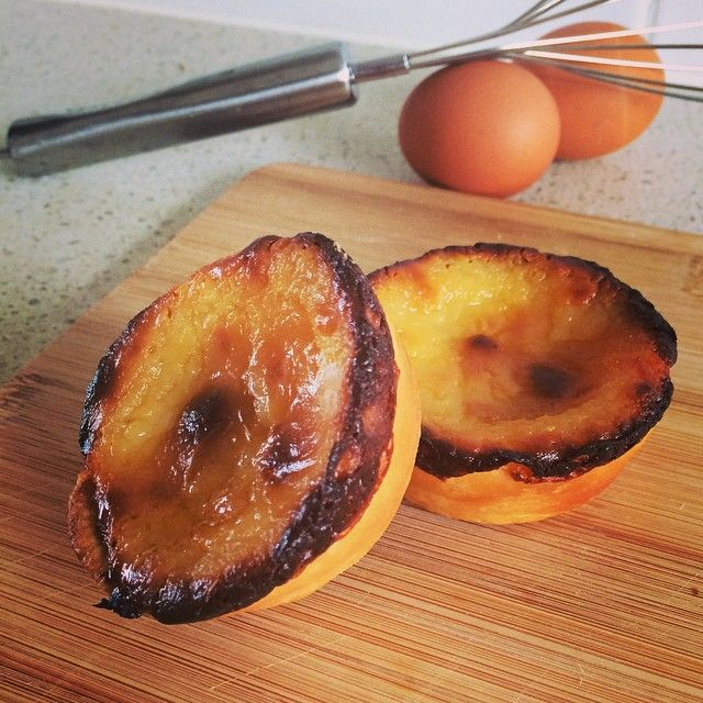 Portuguese Egg (Custard) Tarts