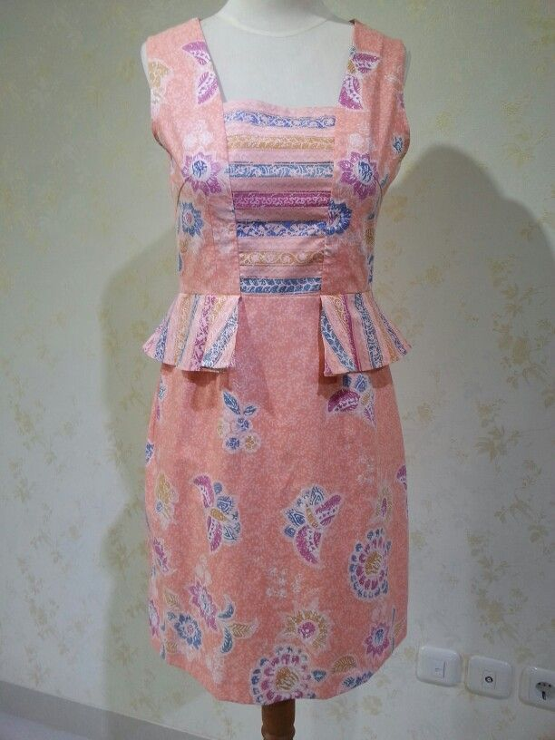Batik Putri dress by Dongengan (Facebook: Kreasi Dongengan)