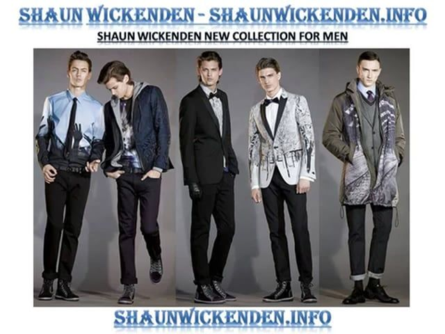 Shaun Wickenden is a Fashion Designer who has been a recognised in fashion industry since long time. Clothing designed by Shaun Wickenden are very popular around the world.
