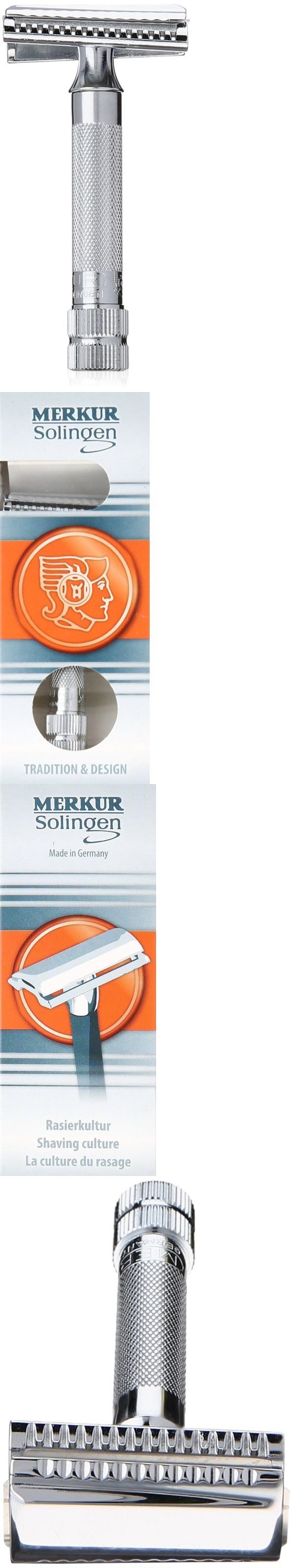 Mens Razors: Merkur-Razor Safety Razor 37C Chrome With Slant Bar -> BUY IT NOW ONLY: $53.12 on eBay!
