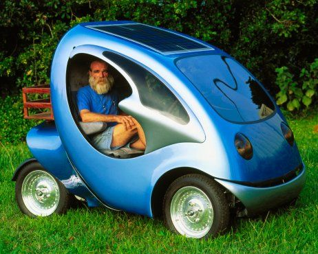 Electric Car One Person