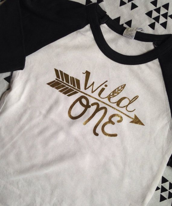 Hey, I found this really awesome Etsy listing at https://www.etsy.com/listing/211759727/wild-one-first-birthday-shirt-raglan