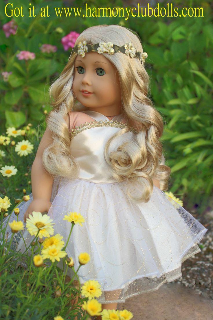 HARMONY CLUB DOLLS www.harmonyclubdolls.com Fits American Girl Dolls.