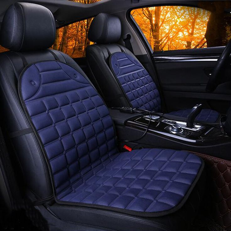 Heated Car Seat Cover Electric Cushion (Set of 2