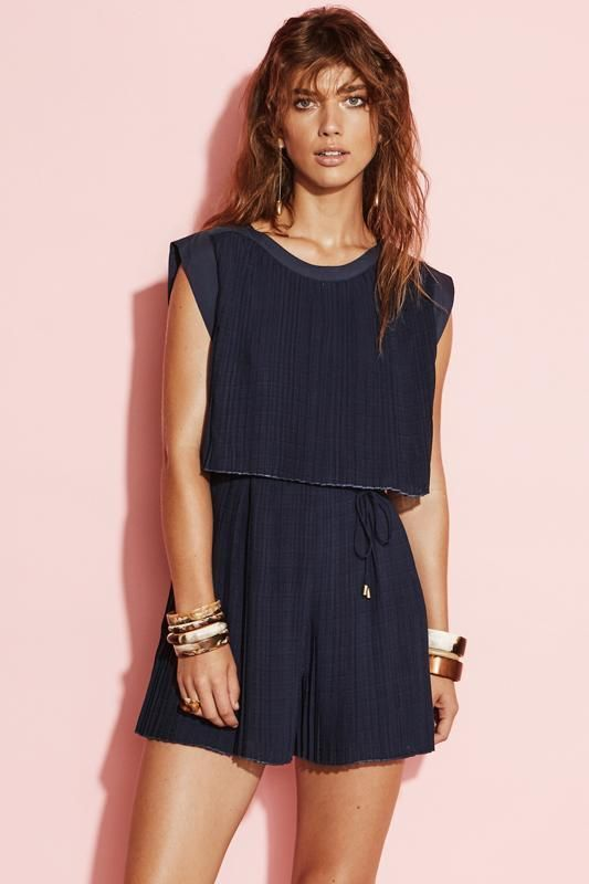 August Street - Just Say Playsuit