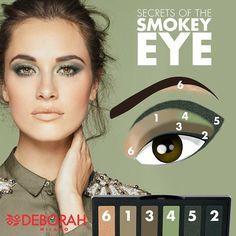 Oggi vi consigliamo un Green Sofisticated Look con la palette SECRETS OF THE SMOKEY EYE. La palette Green è l'ideale per un make-up al tempo stesso trendy e raffinato, perfetto su tutte le sfumature di occhi marroni. A chi piace? :) #makeuplook #makeup #eyes #ombretto #verde #beauty #instabeauty #instaday