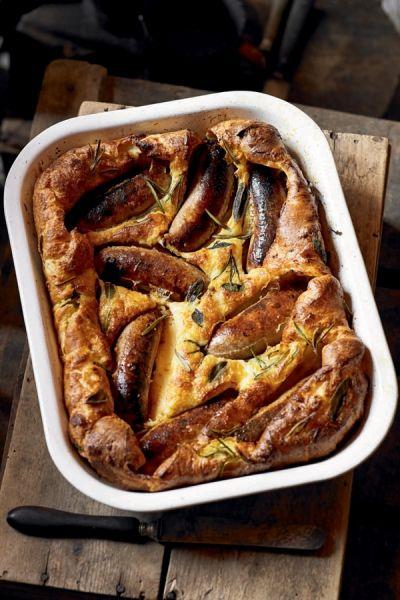 Britse 'toad in the hole' / Recepten / Eten | ELLE Eten Mobiel