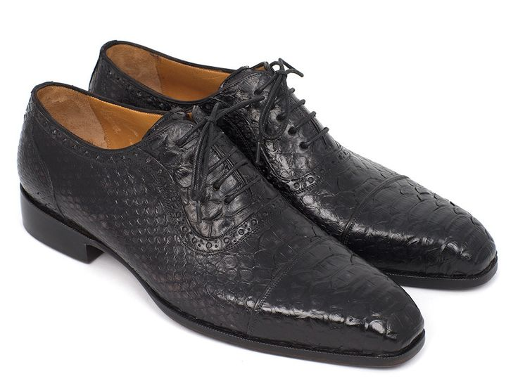 Cap Toe Oxford Phyton Shoes - PRO Quality