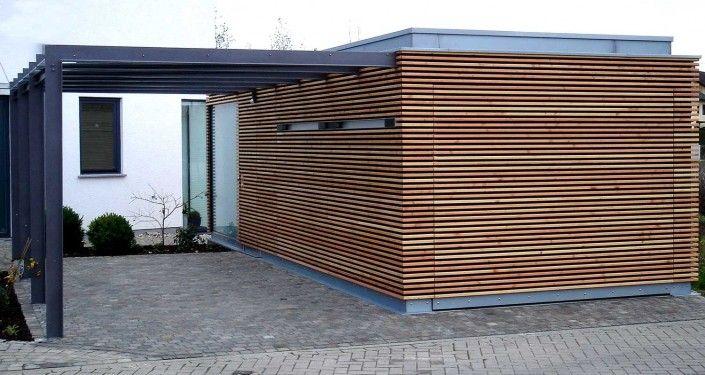 Carport 2 Haus Schmales Grundstuck Architektur Carport
