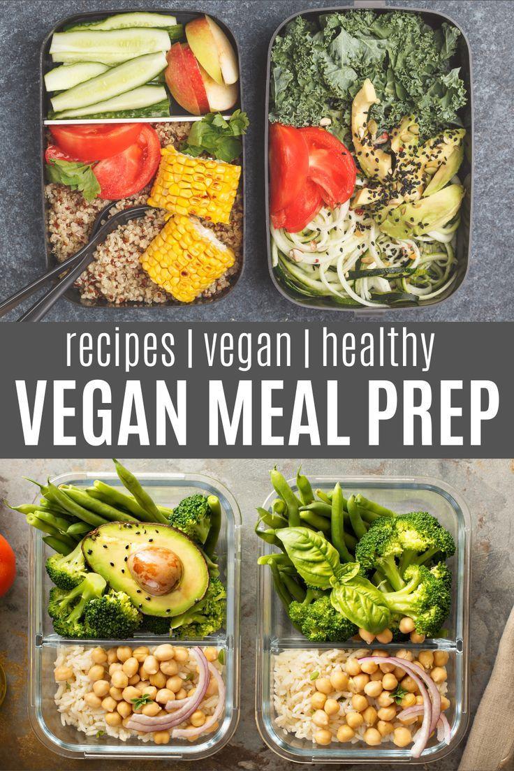 9 Super Healthy Vegan Meal Prep Recipes In 2020 Clean Eating Recipes Lunch Vegan Recipes Healthy Meal Prep Clean Eating