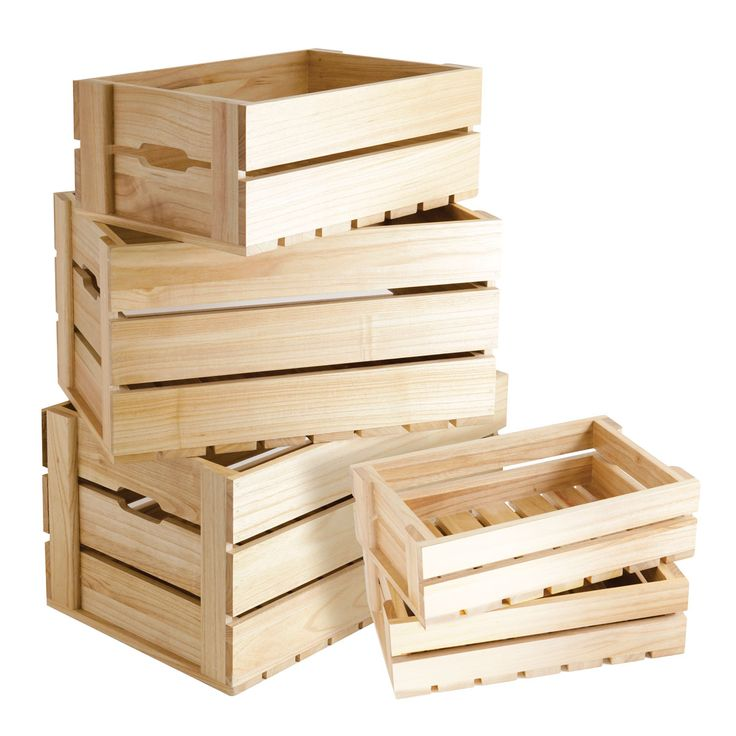 25+ unique Wooden crate boxes ideas on Pinterest | Crates