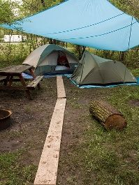 Tips for camping in the rain...I have needed this in the past...and assume I will need this again