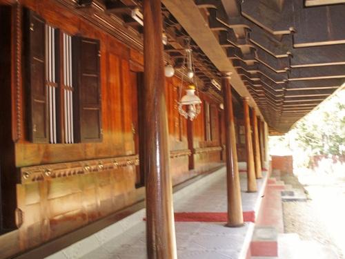 The Long Verandah On All Four Sides Of The Nalukettu Gives