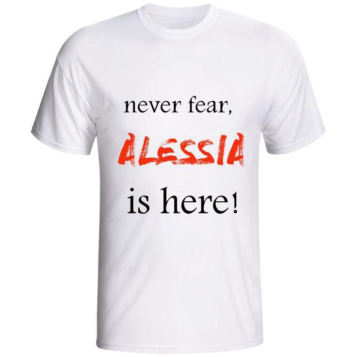 """t shirt """"NEVER FEAR"""" di SACROSANCTA su Etsy"""