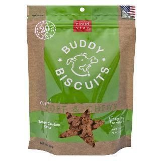 Cloud Star 6-20 oz. Original Soft & Chewy Buddy Biscuits Dog Treats - Roasted Chicken Value Bag