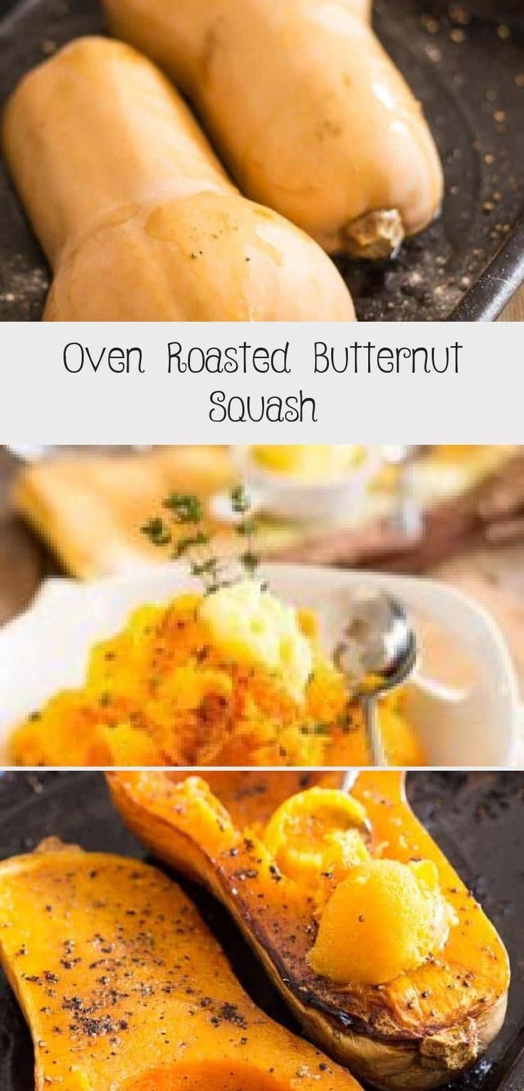 Oven Roasted Butternut Squash Healthy İdeas