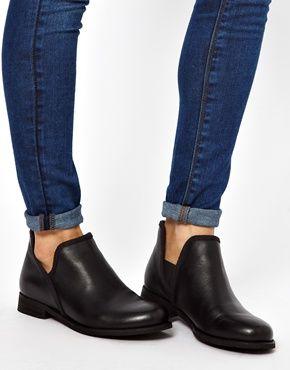 Bild 3 von ASOS – ARTHUR – Chelsea Ankle Boots aus Leder