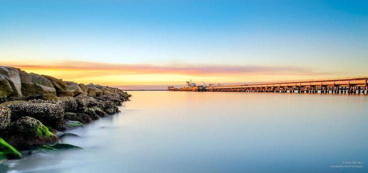 Sunset at Kurnell, NSW Australia.
