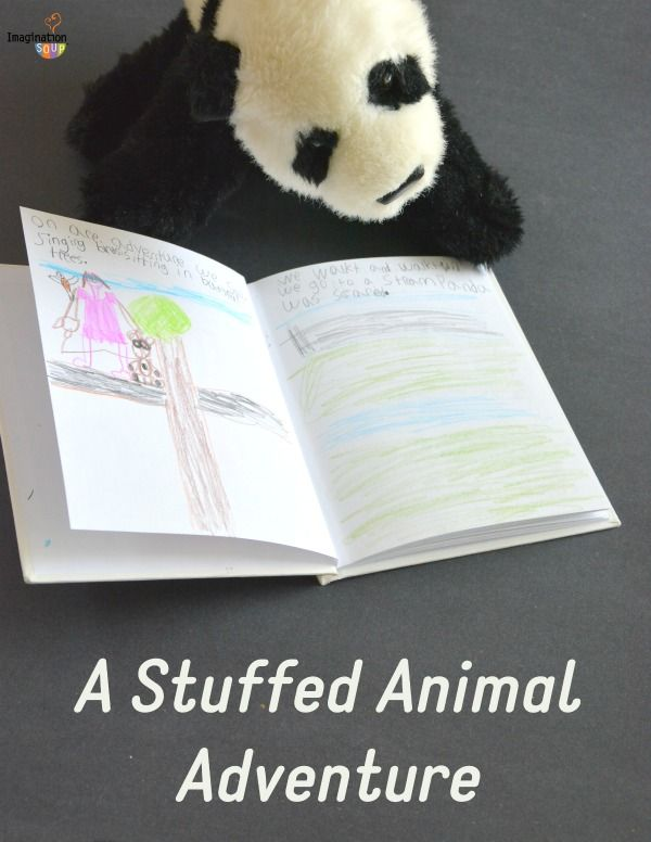 take your best friend (aka. favorite stuffed animal) for a walk. Write the storyl!!