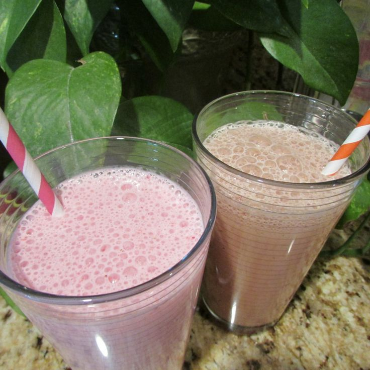 Strawberry and Chocolate Milk Recipes