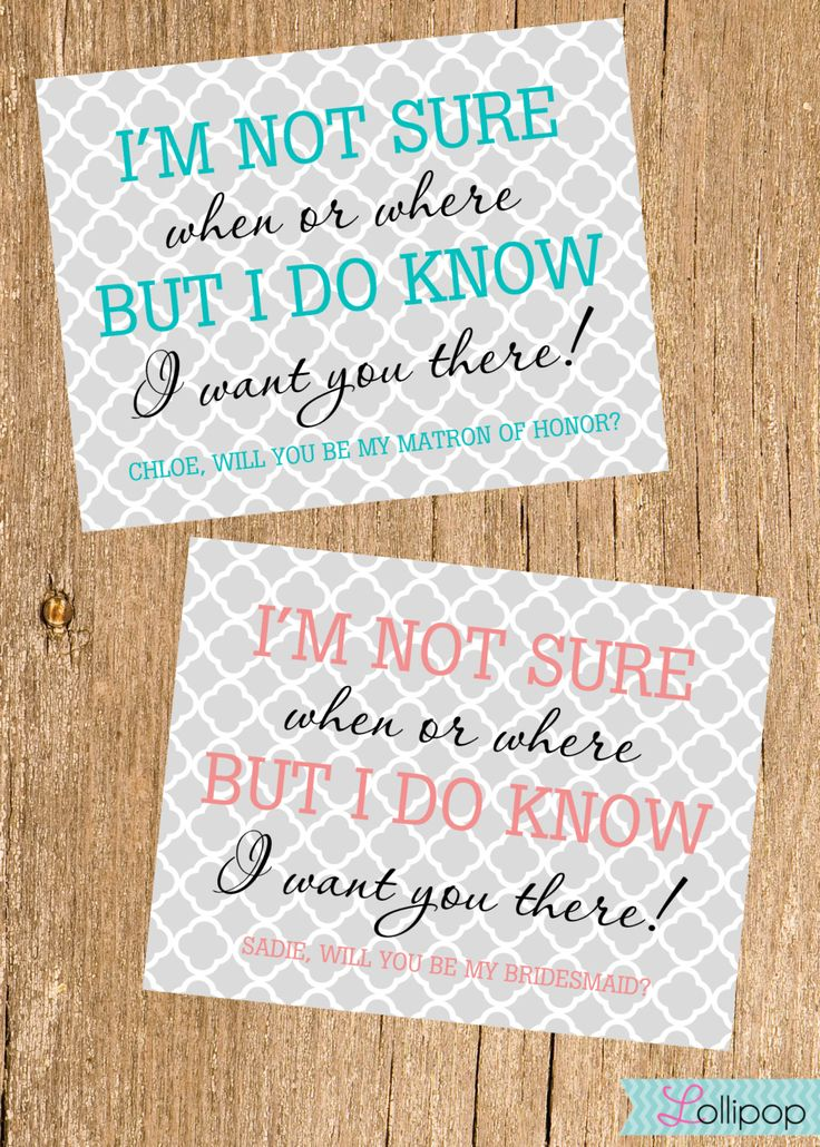 Will+You+Be+My+Bridesmaid+Card+Mod++Bridesmaid+Card+by+LollipopInk,+$1.75