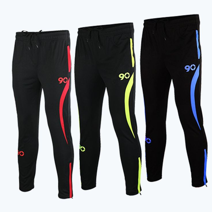 Men's Soccer Pants Gym Fitness Trainning Pants Quick Dry Jogging Football Soccer Sweatpants Training Sports Long Trousers #Affiliate