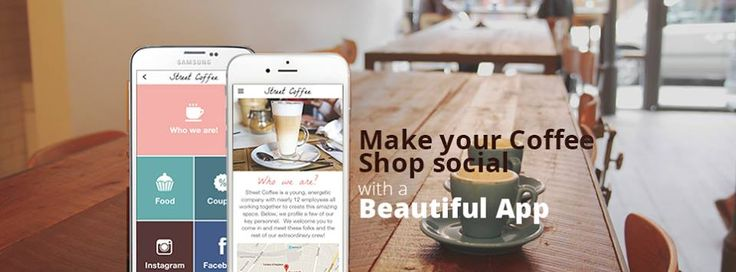 Coffee on the go takes a whole new meaning with a Beautiful App for your Coffee Shop. Never leave your customers' side with a Beautiful App they'll want to visit almost as much as your shop. Going mobile will make your street corner Coffee Shop go from local to viral! - GoodBarber