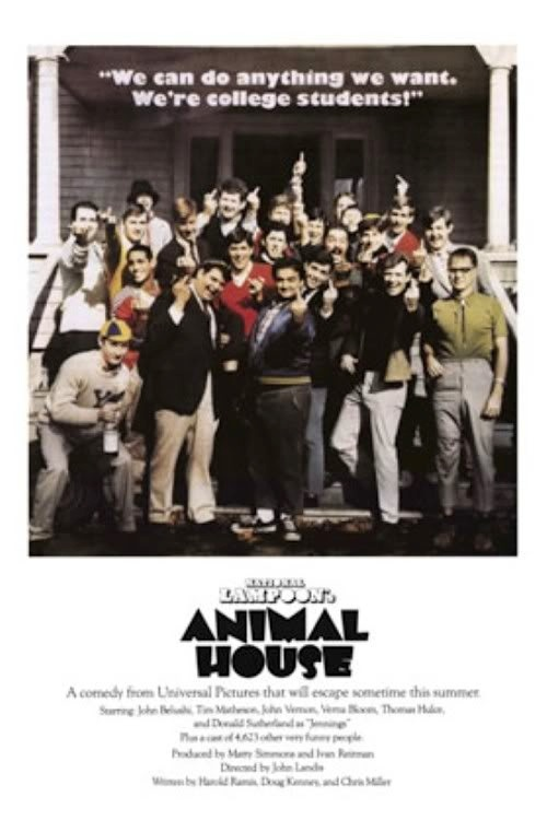 National Lampoon's Animal House Release date: July 28, 1978 (USA) Director: John Landis Cast: John Belushi, Kevin Bacon, Tim Matheson, ...