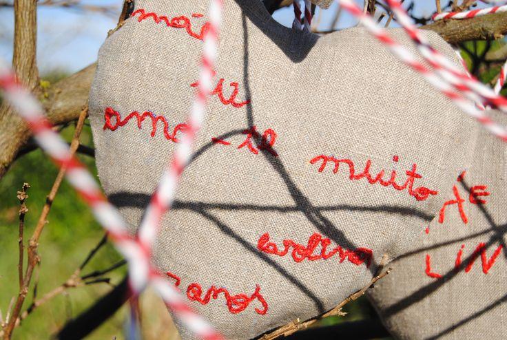 Mensagens envolvidas em amor