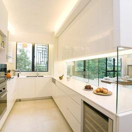 Kitchen +minimalist +semi outdoor +kitchen Design Ideas, Pictures, Remodel and Decor