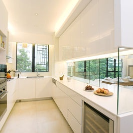 Kitchen +minimalist +semi outdoor +kitchen Design Ideas, Pictures, Remodel and Decor