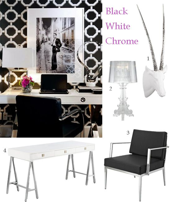 Glam Wall Decor 99 best glam office images on pinterest | home, office ideas and