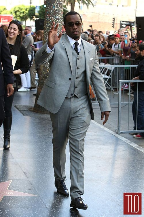 """Sean Combs at Hollywood Star Ceremony for Kenneth """"Babyface"""" Edmonds 