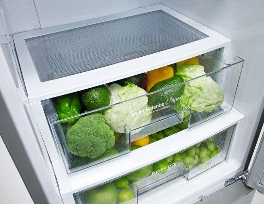 Energieeffizienzklasse A+++ und Total No Frost – die neuen Kühl- und Gefrierkombinationen von LG