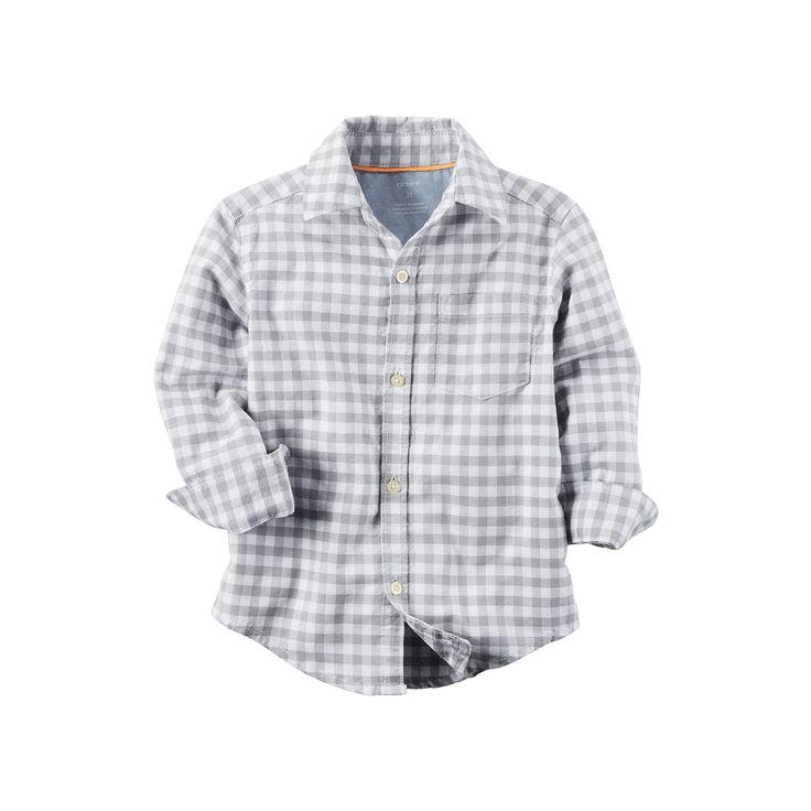 Boys 4-8 Carter's Button-Down Shirt, Boy's, Size: 4, Ovrfl Oth