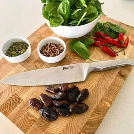 An artisan approach to the perfect bevelled edge by sharpening & honing means the Füri blade is ready for 'straight out of the box' sharpness. Furi knives are available online now! www.appliancekitchen.com.au #clknetwork #homeappliance24 #kitchenappliances #cleaningappliances