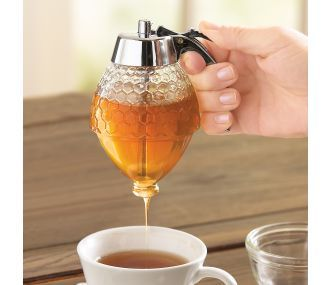 Honey & Syrup Dispenser. Great for tea! (Great website with lots of goodies, as well, if you click on the link. :) )