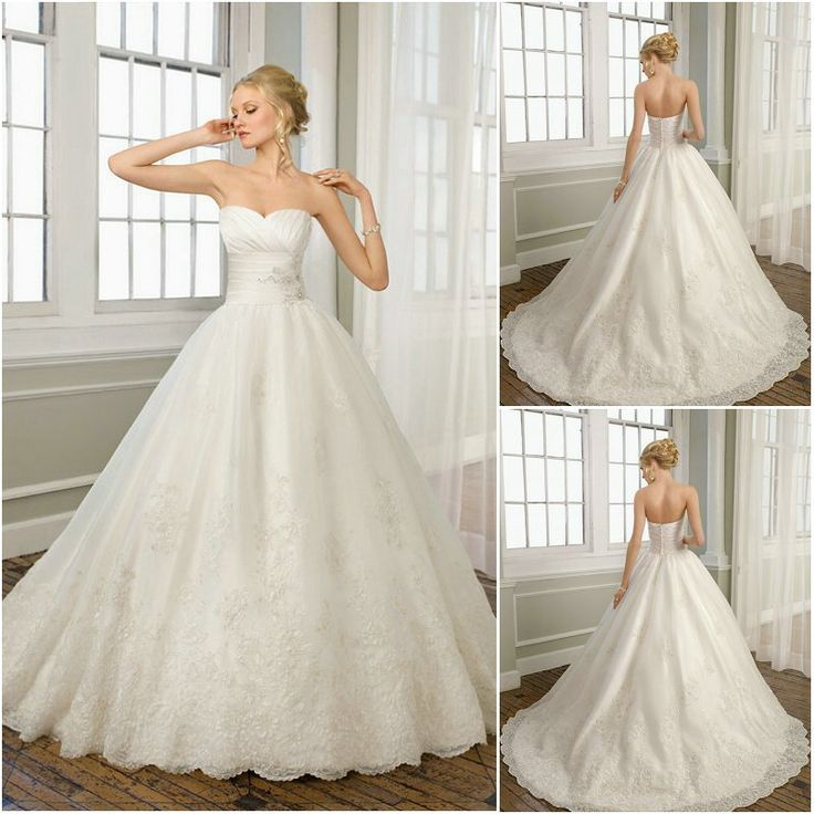 Free Shipping ! Very Beautiful Customized Sweetheart Ball-Gown lace Wedding Dress 2013 wedding dresses on AliExpress.com. $199.00