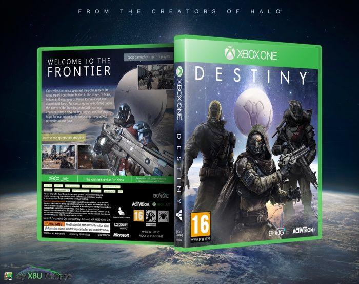 xbox one game destiny | Destiny Xbox One Box Art Cover by XBU Philippe