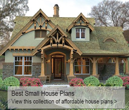 House plans home plans from better homes and gardens for Best small house plans ever