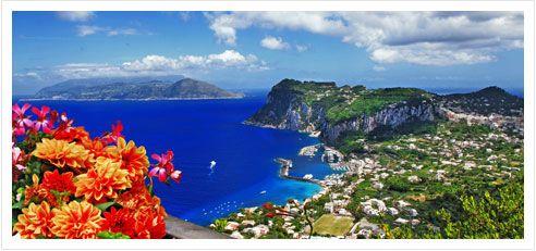 Badeferien in Capri